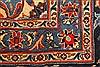 Kashan Red Hand Knotted 98 X 128  Area Rug 100-28018 Thumb 1