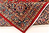 Kashan Red Hand Knotted 98 X 128  Area Rug 100-28018 Thumb 6