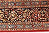 Kashan Red Hand Knotted 98 X 128  Area Rug 100-28018 Thumb 9