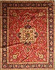 Tabriz Blue Hand Knotted 100 X 128  Area Rug 100-28019 Thumb 0