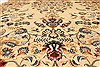 Kerman Blue Hand Knotted 112 X 156  Area Rug 100-28021 Thumb 6