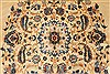 Kerman Blue Hand Knotted 112 X 156  Area Rug 100-28021 Thumb 8
