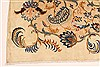 Kerman Blue Hand Knotted 112 X 156  Area Rug 100-28021 Thumb 9
