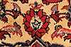 Kashan Red Hand Knotted 94 X 132  Area Rug 100-28022 Thumb 10