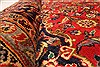 Kashan Red Hand Knotted 94 X 132  Area Rug 100-28022 Thumb 1