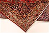 Kashan Red Hand Knotted 94 X 132  Area Rug 100-28022 Thumb 2