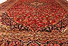 Kashan Red Hand Knotted 94 X 132  Area Rug 100-28022 Thumb 4