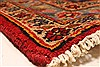 Kashan Red Hand Knotted 94 X 132  Area Rug 100-28022 Thumb 8