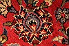 Kashan Red Hand Knotted 94 X 132  Area Rug 100-28022 Thumb 9