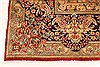 Kerman Green Hand Knotted 98 X 132  Area Rug 100-28023 Thumb 10