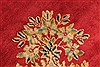 Kerman Green Hand Knotted 98 X 132  Area Rug 100-28023 Thumb 13