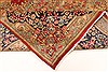 Kerman Green Hand Knotted 98 X 132  Area Rug 100-28023 Thumb 5
