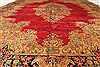 Kerman Green Hand Knotted 98 X 132  Area Rug 100-28023 Thumb 7