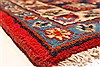 Isfahan Red Hand Knotted 98 X 130  Area Rug 100-28024 Thumb 10