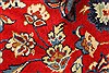 Isfahan Red Hand Knotted 98 X 130  Area Rug 100-28024 Thumb 11