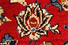 Isfahan Red Hand Knotted 98 X 130  Area Rug 100-28024 Thumb 12