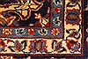 Isfahan Red Hand Knotted 98 X 130  Area Rug 100-28024 Thumb 13