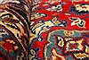 Isfahan Red Hand Knotted 98 X 130  Area Rug 100-28024 Thumb 3
