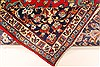Isfahan Red Hand Knotted 98 X 130  Area Rug 100-28024 Thumb 4