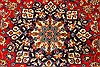 Isfahan Red Hand Knotted 98 X 130  Area Rug 100-28024 Thumb 8