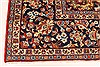 Isfahan Red Hand Knotted 98 X 130  Area Rug 100-28024 Thumb 9