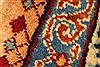 Kashmar Multicolor Hand Knotted 99 X 127  Area Rug 100-28026 Thumb 10