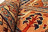 Kashmar Multicolor Hand Knotted 99 X 127  Area Rug 100-28026 Thumb 11