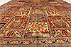 Kashmar Multicolor Hand Knotted 99 X 127  Area Rug 100-28026 Thumb 3