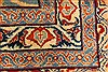 Kashmar Multicolor Hand Knotted 99 X 127  Area Rug 100-28026 Thumb 4