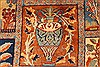 Kashmar Multicolor Hand Knotted 99 X 127  Area Rug 100-28026 Thumb 5
