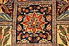 Kashmar Multicolor Hand Knotted 99 X 127  Area Rug 100-28026 Thumb 7