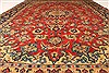 Isfahan Red Hand Knotted 87 X 126  Area Rug 100-28028 Thumb 5