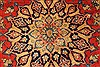 Isfahan Red Hand Knotted 87 X 126  Area Rug 100-28028 Thumb 7