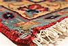 Isfahan Red Hand Knotted 87 X 126  Area Rug 100-28028 Thumb 9