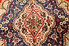 Tabriz Blue Hand Knotted 108 X 171  Area Rug 100-28029 Thumb 7
