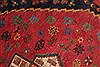 Afshar Red Hand Knotted 50 X 66  Area Rug 400-28032 Thumb 10