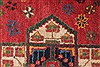 Afshar Red Hand Knotted 50 X 66  Area Rug 400-28032 Thumb 11