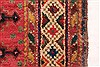 Afshar Red Hand Knotted 50 X 66  Area Rug 400-28032 Thumb 12