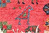 Afshar Red Hand Knotted 50 X 66  Area Rug 400-28032 Thumb 13