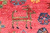 Afshar Red Hand Knotted 50 X 66  Area Rug 400-28032 Thumb 14