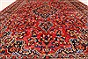 Mashad Red Hand Knotted 66 X 93  Area Rug 100-28034 Thumb 5
