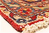 Kashan Red Hand Knotted 78 X 115  Area Rug 100-28035 Thumb 18