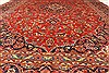 Kashan Red Hand Knotted 78 X 115  Area Rug 100-28035 Thumb 7