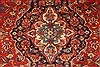 Kashan Red Hand Knotted 78 X 115  Area Rug 100-28035 Thumb 9