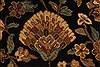 Jaipur Black Hand Knotted 82 X 101  Area Rug 100-28037 Thumb 11
