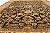 Jaipur Black Hand Knotted 82 X 101  Area Rug 100-28037 Thumb 6