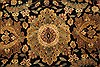 Jaipur Black Hand Knotted 82 X 101  Area Rug 100-28037 Thumb 8