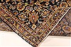 Kashan Beige Hand Knotted 99 X 131  Area Rug 100-28040 Thumb 4