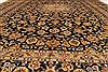 Kashan Beige Hand Knotted 99 X 131  Area Rug 100-28040 Thumb 6