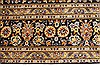 Kashan Beige Hand Knotted 99 X 131  Area Rug 100-28040 Thumb 7